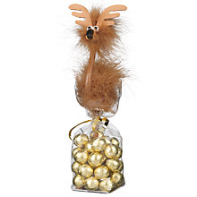 Buy Reindeer Pen and Milk Chocolate Set, 160g Online at johnlewis.com