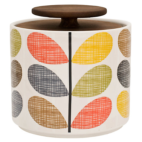 Buy Orla Kiely Multi Stem Kitchen Storage Container, 1L Online at johnlewis.com