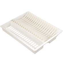 Buy John Lewis The Basics Plate Rack Online at johnlewis.com