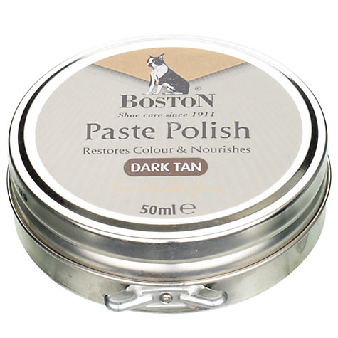 Buy Gloss Wax Shoe Polish, Dark Tan Online at johnlewis.com