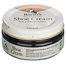 Buy Shoe Cream, Black, 50ml Online at johnlewis.com