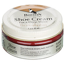 Buy Shoe Cream, Red, 50ml Online at johnlewis.com