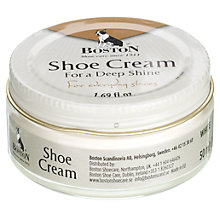 Buy Shoe Cream, White, 50ml Online at johnlewis.com
