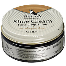 Buy Shoe Cream, Navy, 50ml Online at johnlewis.com