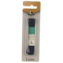 Buy Shoe Laces Pair, Black, 120cm Online at johnlewis.com