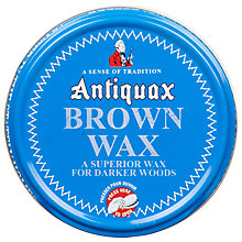 Buy Antiquax Brown Wax Polish, 100g Online at johnlewis.com