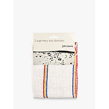 Buy John Lewis Heavy Duty Dishcloths, Pack of 2 Online at johnlewis.com