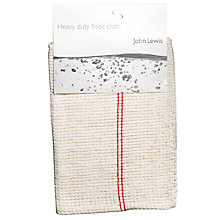 Buy John Lewis Floor Cloth, Single Online at johnlewis.com