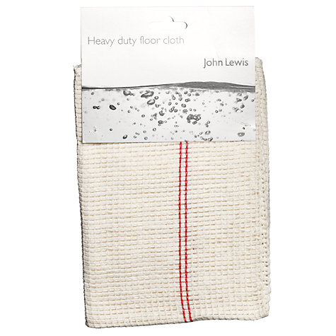 Buy John Lewis The Basics Floor Cloth, Single Online at johnlewis.com