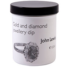 Buy John Lewis Gold & Diamond Sparkle Jewellery Cleaner, 0.22L Online at johnlewis.com
