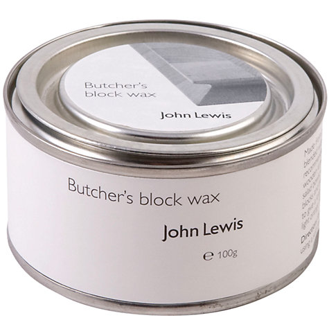 Buy John Lewis Butcher's Block Wax, 100g Online at johnlewis.com