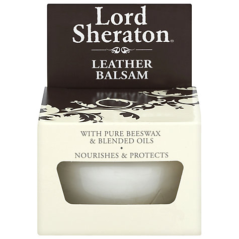 Buy Lord Sheraton Natural Beeswax Leather Balsam Online at johnlewis.com