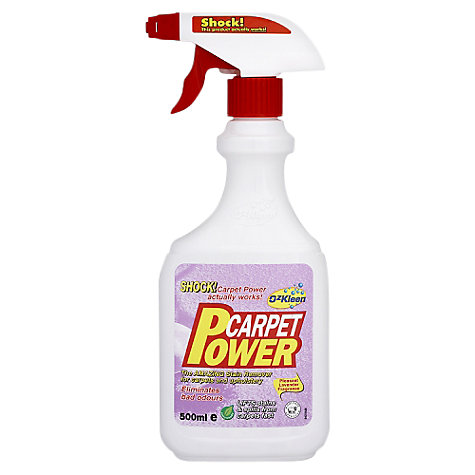 Buy Ozkleen Carpet Power Spray, 0.5L Online at johnlewis.com