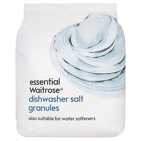 Buy Waitrose Dishwasher Salt, 3kg Online at johnlewis.com