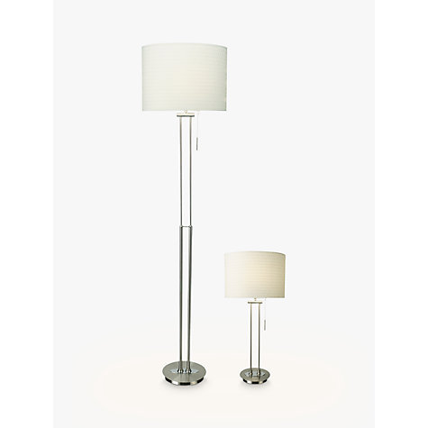 Buy John Lewis Preston Table and Floor Lamp Duo Online at johnlewis.com