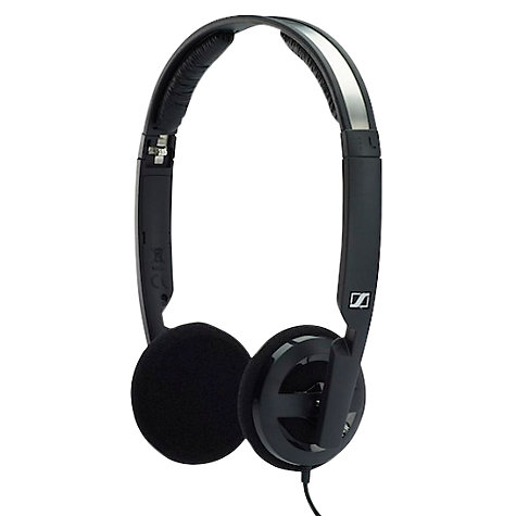 Buy Sennheiser PX100-II On-Ear Headphones, Black Online at johnlewis.com