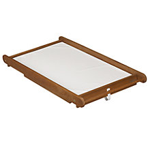 Buy John Lewis Cot Top Changer, Darkwood Online at johnlewis.com