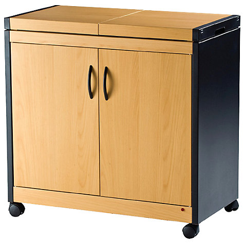 Buy Hostess Trolley, HL6232B, Beech Online at johnlewis.com
