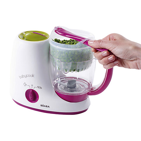 Buy Beaba Babycook Original 4-in-1 Babyfood Maker, Steamer and Blender Online at johnlewis.com