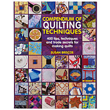 Buy Compendium of Quiltmaking Techniques Online at johnlewis.com