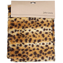Buy John Lewis Faux Fur, Baby Cheetah Online at johnlewis.com