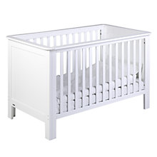 Buy John Lewis Anton Cotbed, White Online at johnlewis.com
