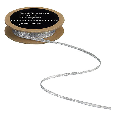 Buy John Lewis Double Satin Ribbon Online at johnlewis.com