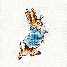 Buy Anchor Peter Rabbit Cross Stitch Kit Online at johnlewis.com