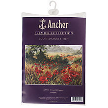 Buy Anchor A Host of Poppies Cross Stitch Kit Online at johnlewis.com