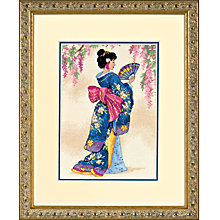 Buy Elegant Geisha Cross Stitch Kit Online at johnlewis.com