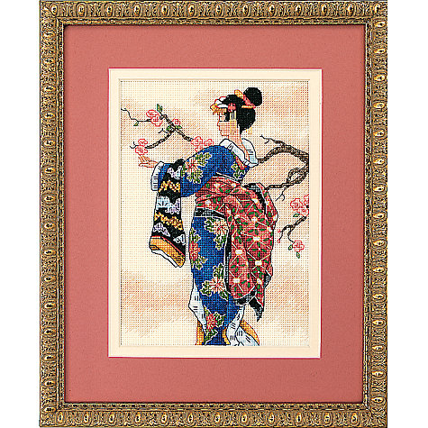 Buy Maiden Cross Stitch Kit Online at johnlewis.com