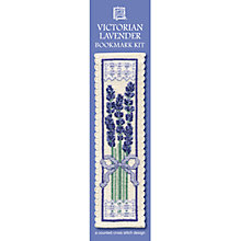 Buy Textile Heritage Victorian Lavender Bookmark Cross Stitch Kit Online at johnlewis.com