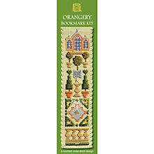Buy Textile Heritage Orangery Bookmark Cross Stitch Kit Online at johnlewis.com