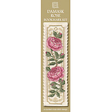 Buy Textile Heritage Damask Rose Bookmark Cross Stitch Kit Online at johnlewis.com