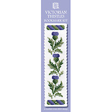 Buy Textile Heritage Victorian Thistles Bookmark Cross Stitch Kit Online at johnlewis.com