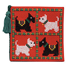 Buy Art Pewter Scotties & Westies Cross Stitch Needle Case Kit Online at johnlewis.com