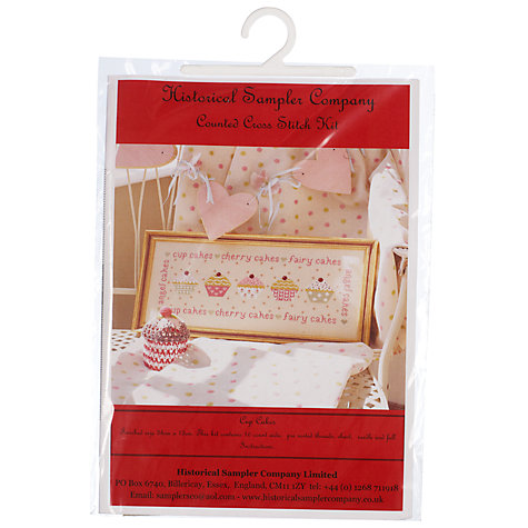 Buy Cup Cakes Cross Stitch Kit Online at johnlewis.com