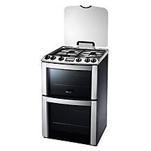 Buy Electrolux EKG603202X Gas Cooker, Stainless Steel Online at johnlewis.com