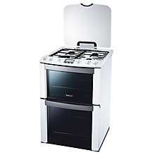 Buy Electrolux EKG603202W Gas Cooker, White Online at johnlewis.com