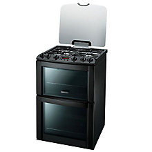 Buy Electrolux EKG603202K Gas Cooker, Black Online at johnlewis.com