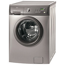 Buy Zanussi ZWF14380G Freestanding Washing Machine, Graphite Online at johnlewis.com