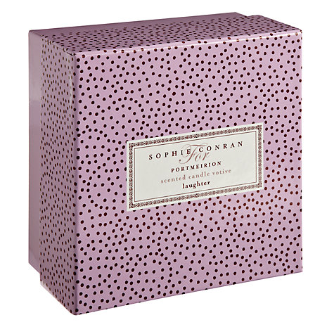 Buy Sophie Conran for Portmerion Laughter Candle, Large Online at johnlewis.com