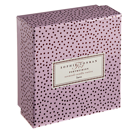 Buy Sophie Conran for Portmerion Love Candle, Small Online at johnlewis.com