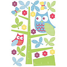 Buy Owl in the Tree Wall Chart Stickers, SA12357 Online at johnlewis.com