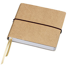 Buy John Lewis Cardboard Small Square Notebook Online at johnlewis.com