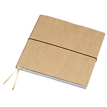 Buy John Lewis Large Square Notebook Online at johnlewis.com