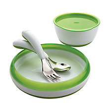 Buy OXO Tot 4 Piece Feeding Set, Green Online at johnlewis.com