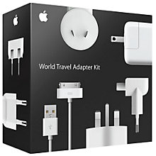 Buy Apple MB974Z/M Travel Adapter Kit for iPod, iPhone and iPad Online at johnlewis.com