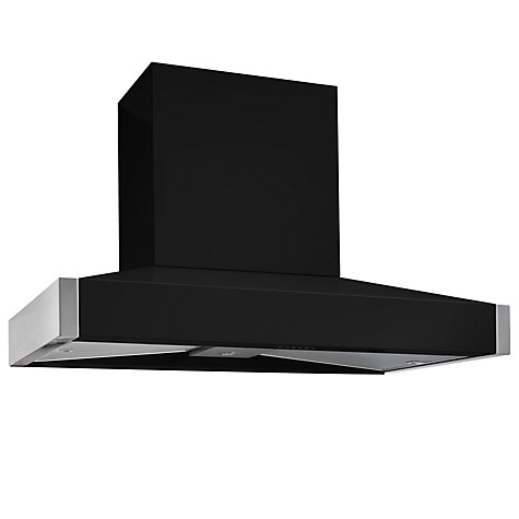 Buy Mercury MHDPC1200BLQ Chimney Cooker Hood, Black Online at johnlewis.com