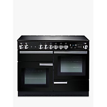 Buy Rangemaster Professional+ 110 Electric Range Cooker and LEIHDC110BC Chimney Cooker Hood, Black Online at johnlewis.com